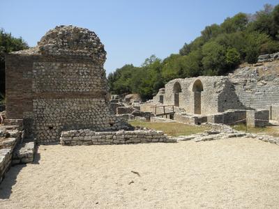 Römische Thermen in Butrint
