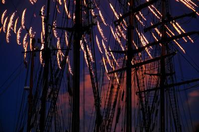 Abschlußfeuerwerk Kieler Woche 3