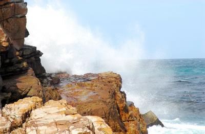 Wellengischt vor Portugals Küste - Algarve