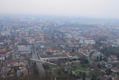 Hoch über Freiburg 03