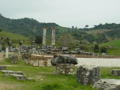 Sardes - Artemistempel 1