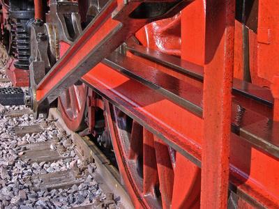 Schwermetall in Rot
