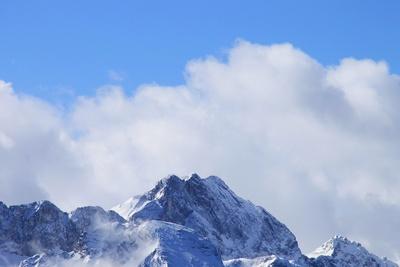 Frühlingswolken im Estergebirge 09