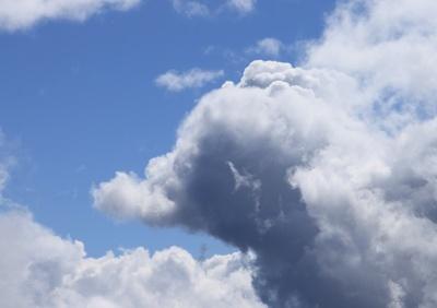 Elefant am Himmel...
