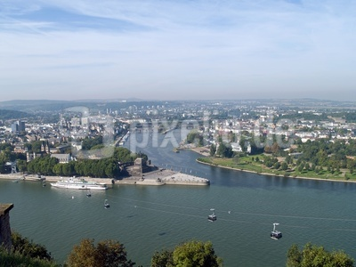 Rhein - Mosel - Deutsches Eck - Koblenz