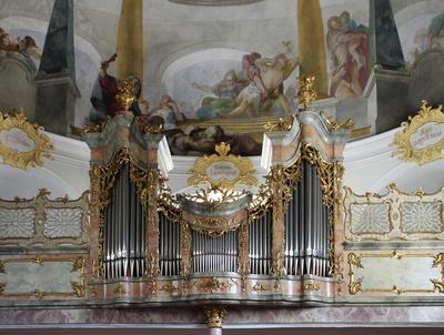 Barockorgel St. Anton, Partenkirchen