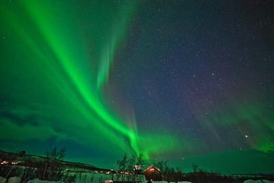Polarlicht in Finnland