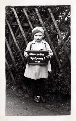 Einschulung 1934