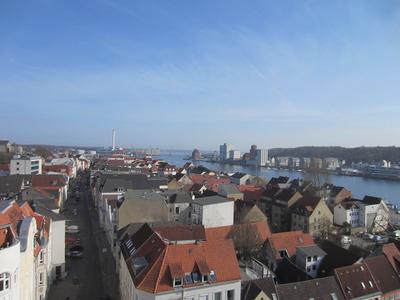 Blick über Flensburg