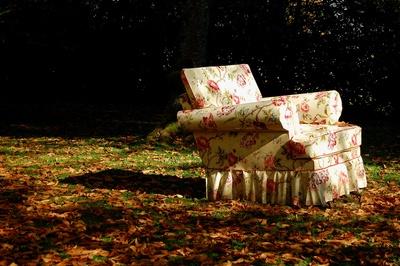 Herbstsonnen-Sessel
