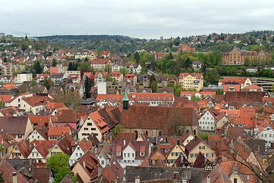 Dächer von Tübingen