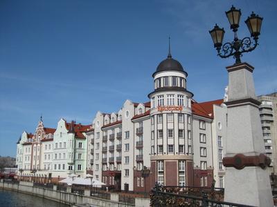 Hotel Kaiserhof in Königsberg (Kaliningrad)