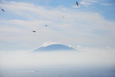 Blick auf Marokko von Gibraltar