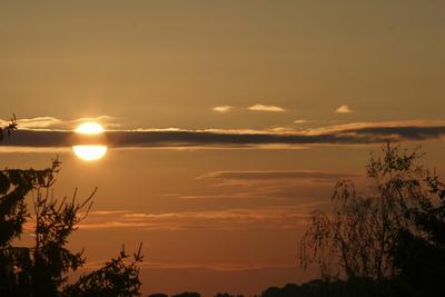 Sunset im Oberbergischen