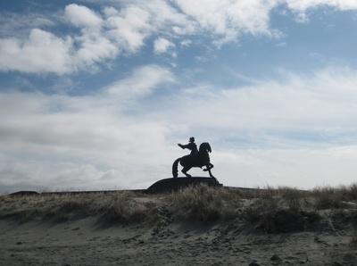 Reiterdenkmal der Zarin Elisabeth
