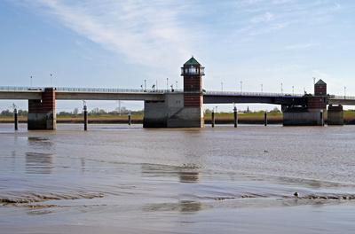 Die letzte Emsbrücke (II). . . .