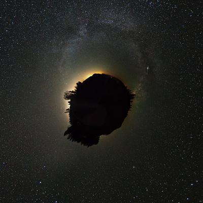 Milchstraßen Little Planet