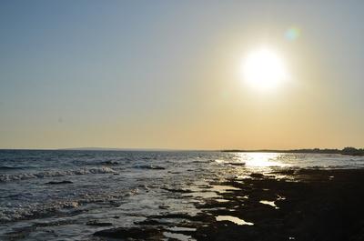Sundowner over Agia Napa Beach