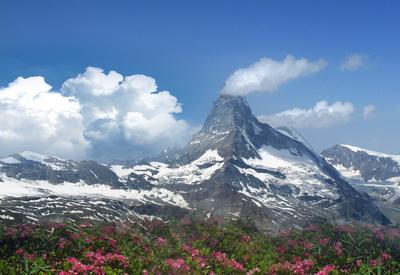 Wetterwechsel am Matterhorn
