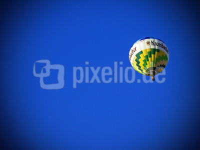 Ballonfahrt im Frühsommer
