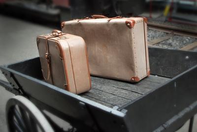 Zwei Reisekoffer