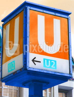U-Bahn Schild