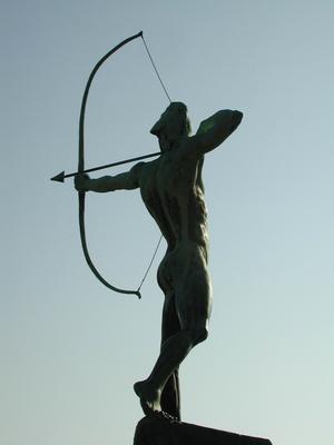 Der Bogenschütze von Dresden