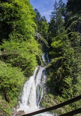Wasserfall beim Kloster Allerheiligen 3