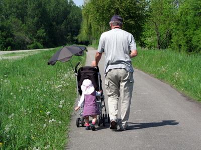 Mit Opa auf Entdeckungsreise