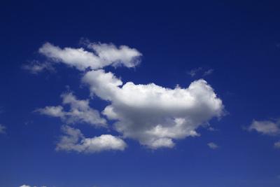 Harmlose Quellwolken