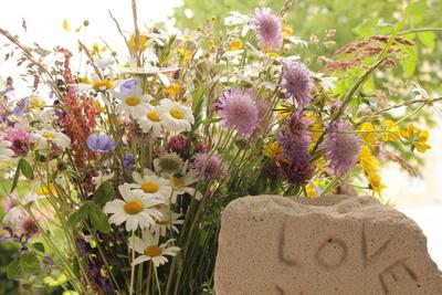 Liebe mit Blumen ausdrücken