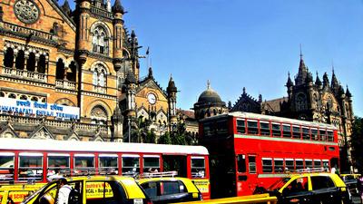 Chhatrapati Shivaji Terminus in Mumbai