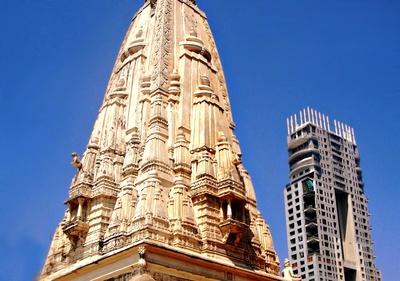 Banganga Tempel shikhara, Mumbai