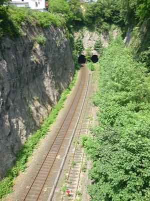 Drei Röhren Tunnel Wuppertal -Langerfeld