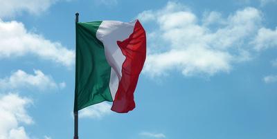 Fahne Italia