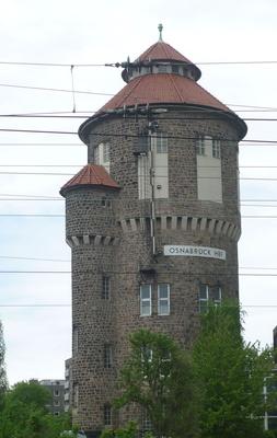 Wasserturm am Bahnhof - Osnabrück