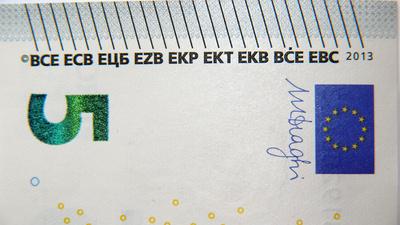 Fünf Euroschein - Neu ...