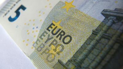 Fünf Euroschein - Neu ......