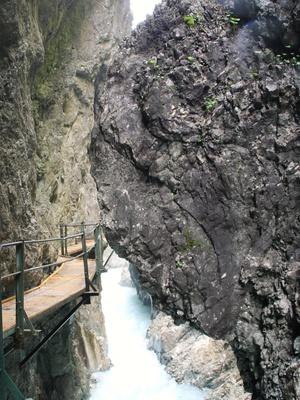 Leutaschklamm - Wasserfallsteig 04