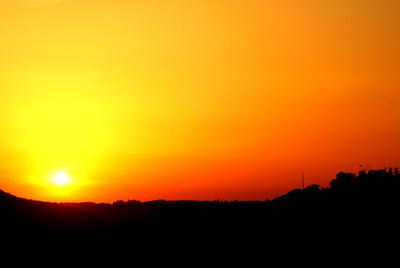 Nagolder Sonnenuntergang