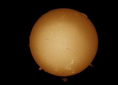 Sonne im Halpha