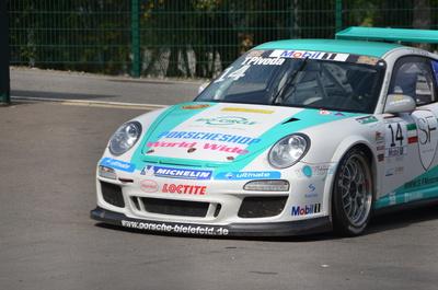 T. Pivoda im Porsche Carrera Cup 2012