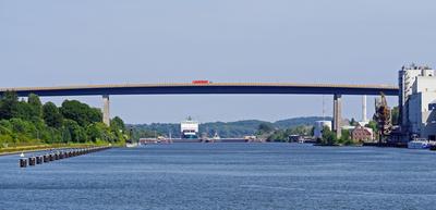 Der Nord-Ostsee-Kanal . . . .