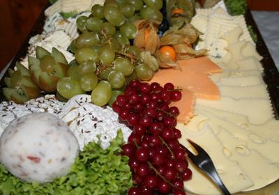 Lecker Käseplatte