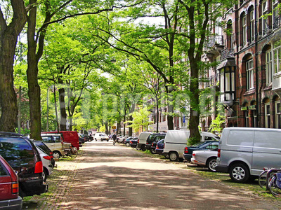 Straße in Amsterdam