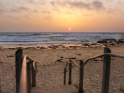Sonnenuntergang Monterey Bay