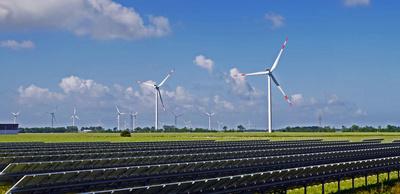 Sonne und Wind - Erneuerbare Energien