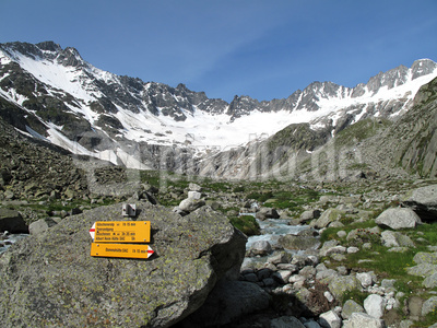 Die Dreitausender über dem Dammagletscher