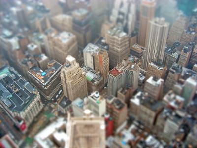 Panorama auf Manhattan - Miniaturansicht