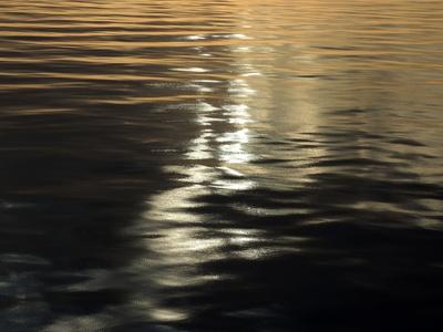 Wasser wie Samt und Seide